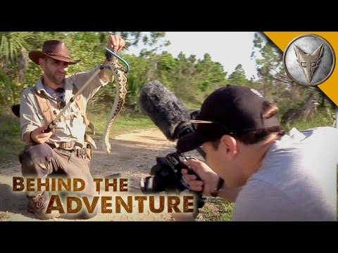 Eastern Diamondback Rattlesnake - Behind the Adventure