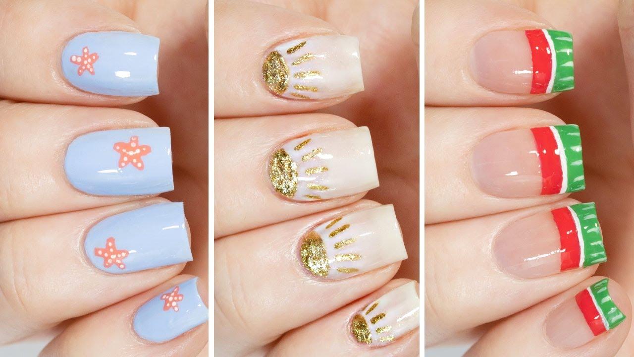 Minimalist Nail Art Designs For Summer 2021 ☀️