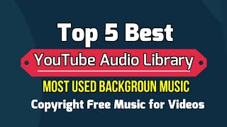 2020 Top 5 background Music 4 Gaming&Vlogs || YouTube Audio Library || Nocopyright Background Music