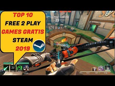 10 Games Gratis Di STEAM Free To Play 2019