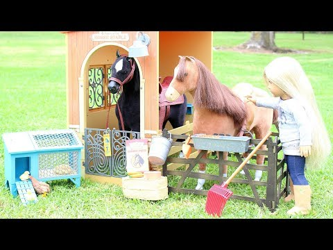 American Girl Horse Stable Doll Set Review