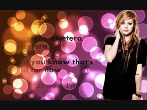Avril Lavigne - Falling Down (Lyrics)