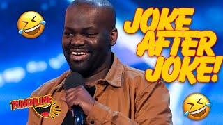 The BEST OF STAND UP COMEDIAN Daliso Chaponda On Britain's Got Talent
