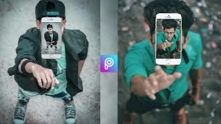 Amazing 3d Fly Mobile Photo Editing Tutorial In Picsart Android App | Instagram Viral Photo Editing