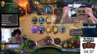 Disguised Toast is trying NEW Frozen Throne Discard Quest Warlock