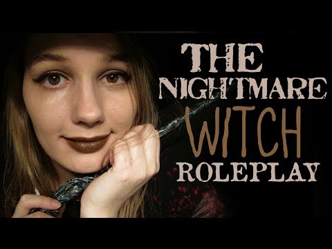 🕸 ASMR The Nightmare Witch Roleplay ~ No More Bad Dreams