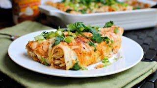 Pumpkin Enchiladas recipe