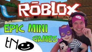 Mini games in Epic Minigames | Roblox | Daddy and Barunka CZ/SK