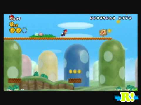 New Super Mario Bros.Wii / Parte 1 / Exclusivo 1000 Suscriptores! Videos De Viajes