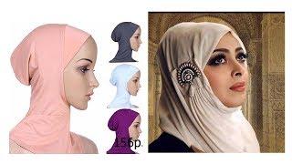 Одежда с AliExpress - Удобный хиджаб для мусульманки<