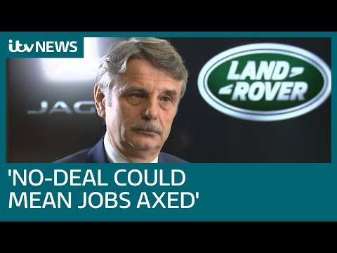 No-deal Brexit could lead to further Jaguar Land Rover job losses, boss Ralf Speth says | ITV News