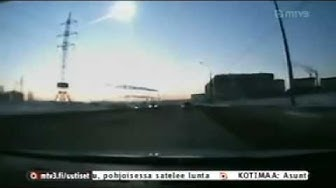 Kymmenen Uutiset - Meteoriitti törmäsi ilmakehään Venäjällä