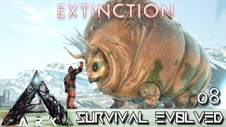 ARK: EXTINCTION - NEW GASBAGS CREATURE MAX LEVEL PERFECT TAME !!! | ARK SURVIVAL EVOLVED E08
