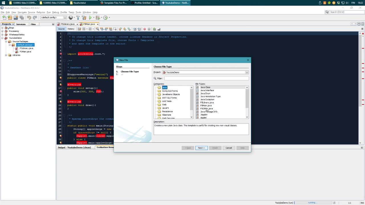 Using Processing 3 with NetBeans IDE