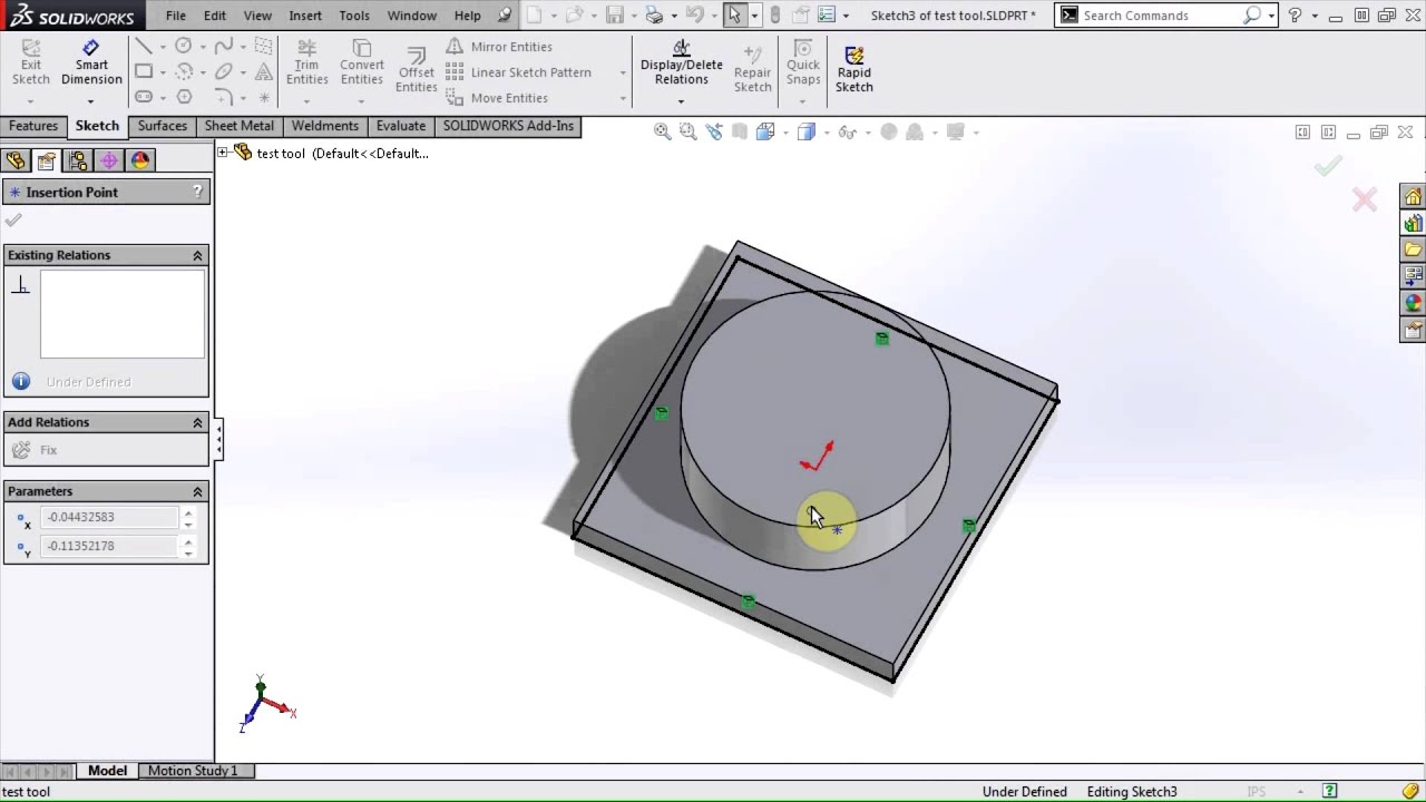 SOLIDWORKS - Creating a Forming Tool - YouTube