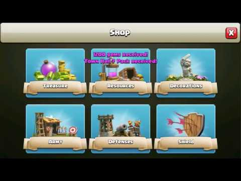 Clash of Clans Town Hall 7 Pack Purchase! Is it Worth it?