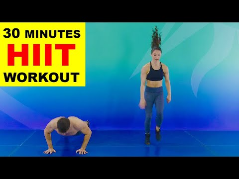 HIIT Workout 30 Min No Equipment at Home with Cirque du Soleil
