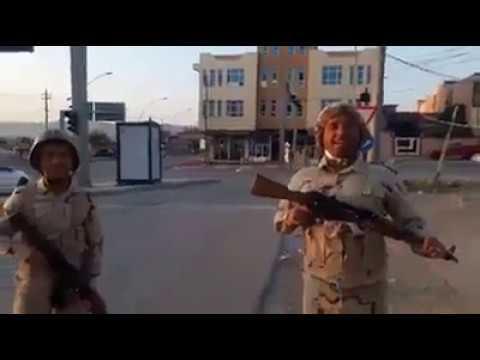 لحظة دخول القوات العراقية وسيطرتها على زاخو في دهوك