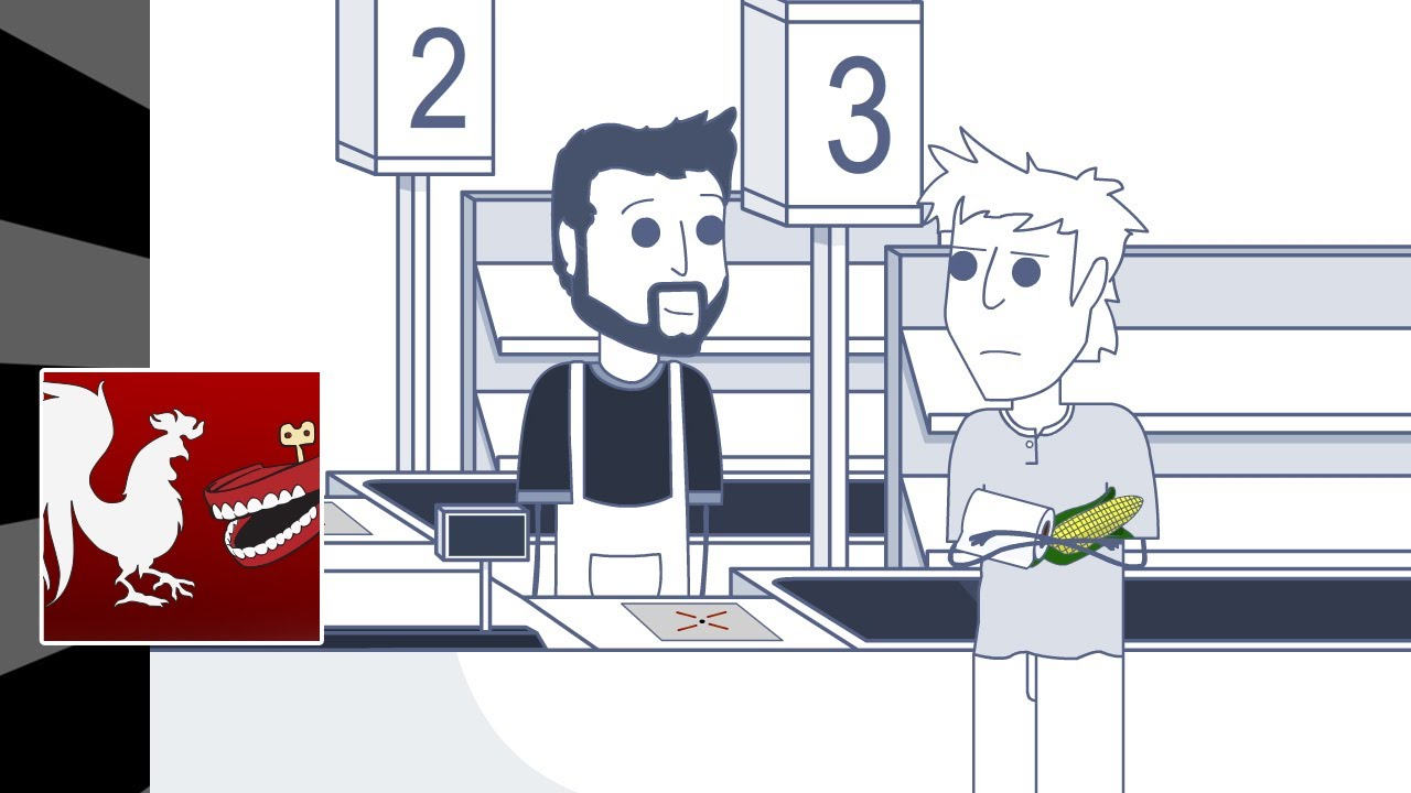 Rooster Teeth Animated Adventures - New Phone, Bad Store
