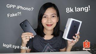 Bumili Ako ng Murang iPhone sa Shopee! Legit Sya Grabe!