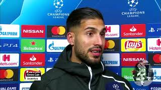 Emre Can Post Match Interview Juventus 3-0 Atletico Madrid