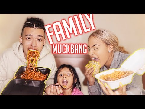 The First Ever FAMILY MUCKBANG!!