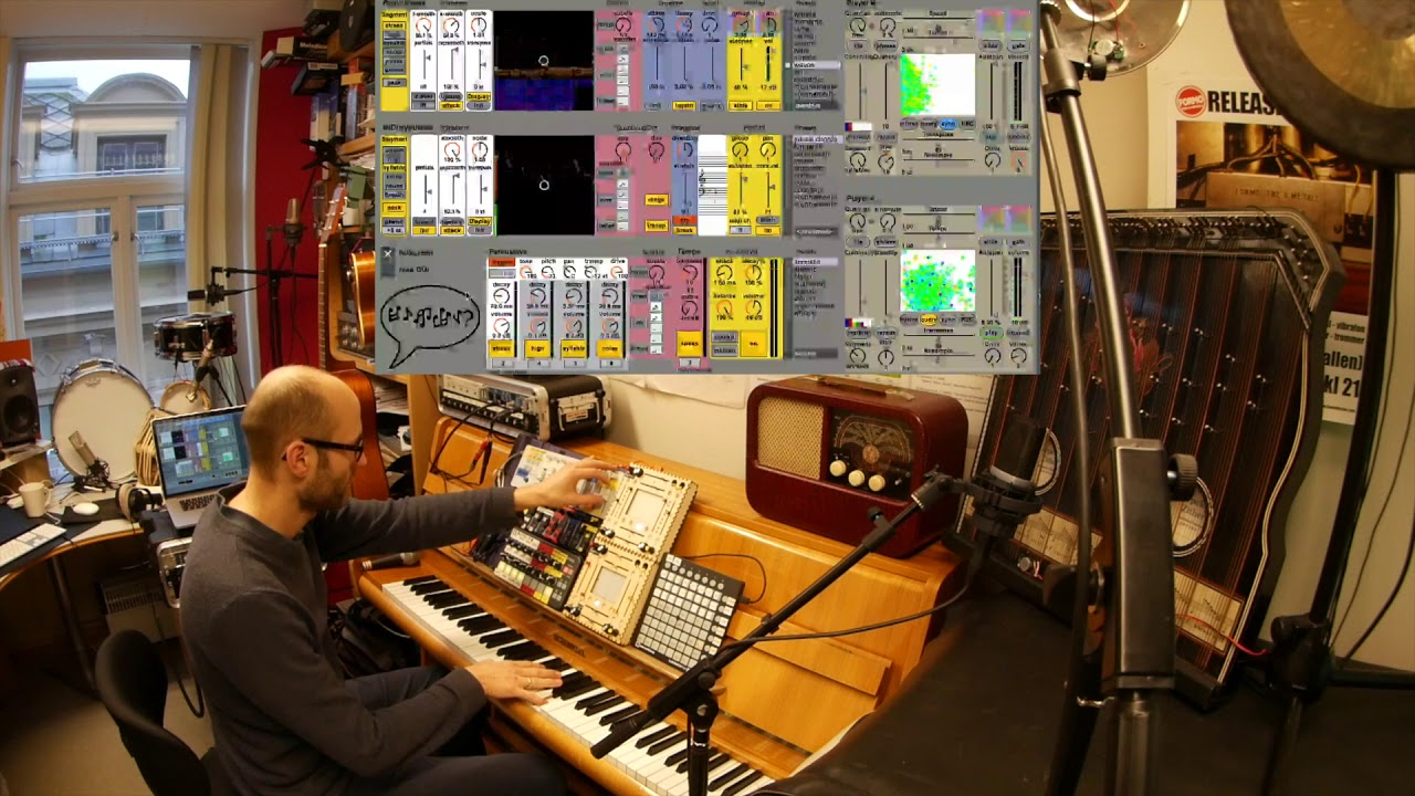 Software Instrument system – Orchestra of Speech