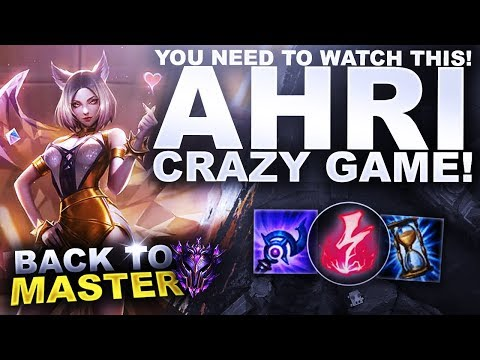 YOU NEED TO WATCH THIS GAME! CRAZY AHRI MATCH! - Back to Master | League of Legends