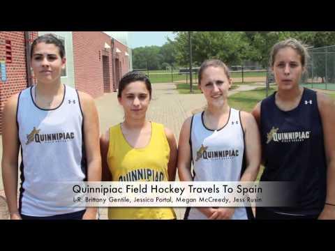 QU Field Hockey Travels To Spain on June 13