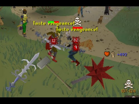 MAX STRENGTH PKing With Various Weapons! - OSRS
