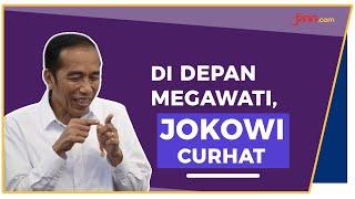 Di Depan Megawati, Jokowi Curhat Masalah Ekonomi Indonesia - JPNN.com