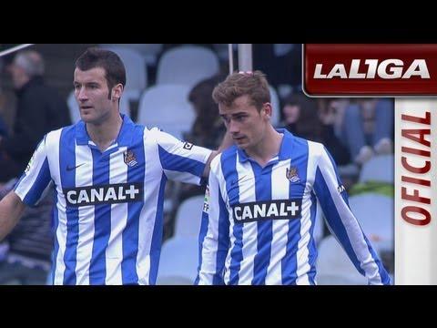 Resumen de Real Sociedad (4-1) Real Valladolid - HD