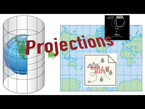 Map Projections: World of Maps