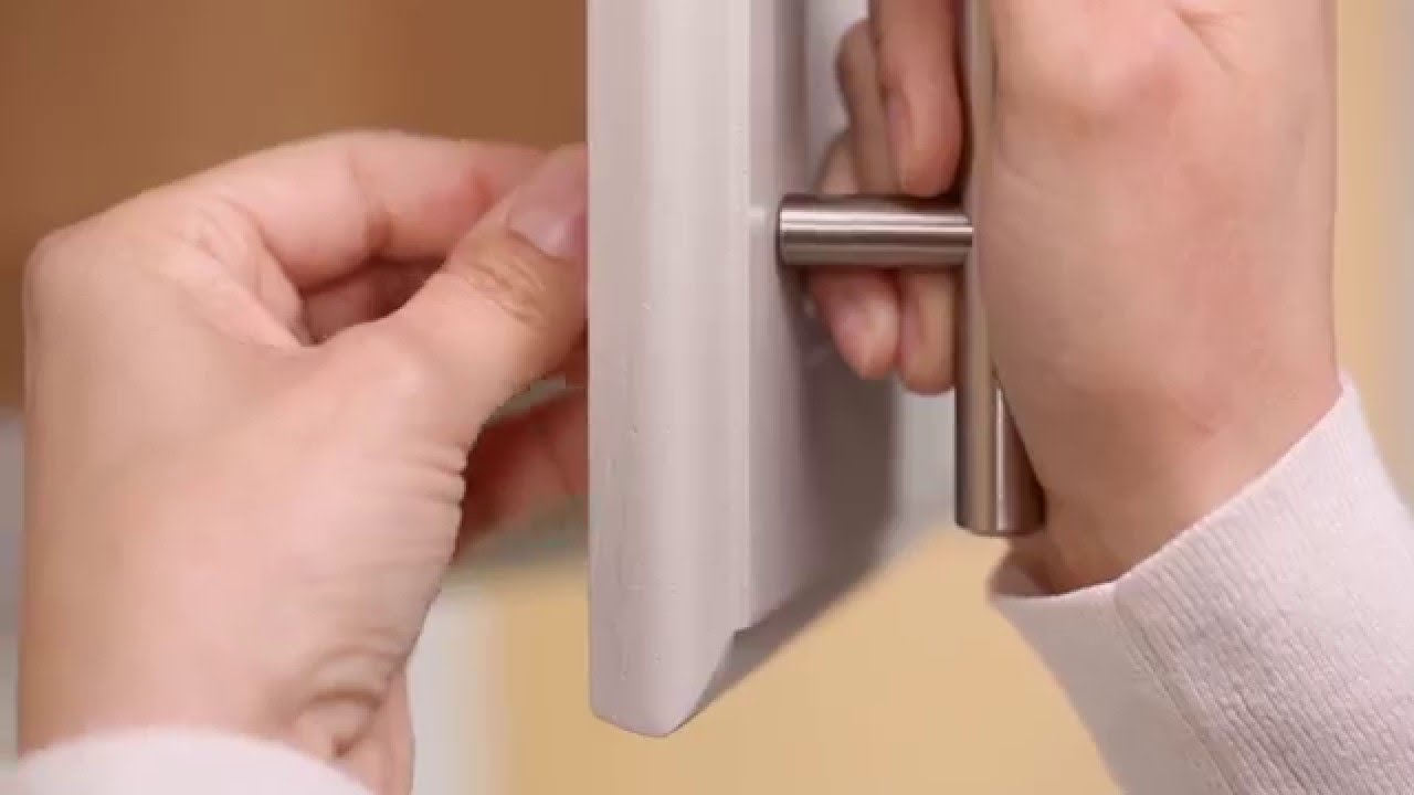 How To Install Cabinet Hardware Youtube