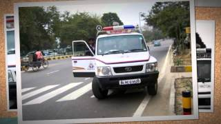 Indian Police Cars with Siren