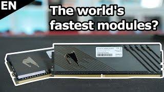 Insane: 5000 MHz RAM Speed on RYZEN 3900X