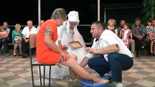 ЧОБОТИ - весільний ОБРЯД