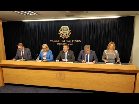 Valitsuse pressikonverents, 28. september 2017
