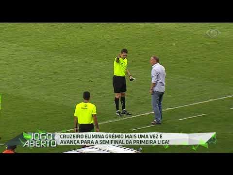 Cruzeiro Elimina O Grêmio Na Primeira Liga