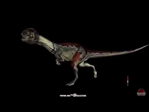 Jurassic Park The Game: Dilophosaurus Profile - YouTube