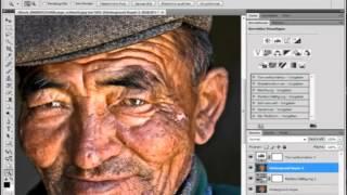 Image Retusche am Beispiel Charakter-Portrait