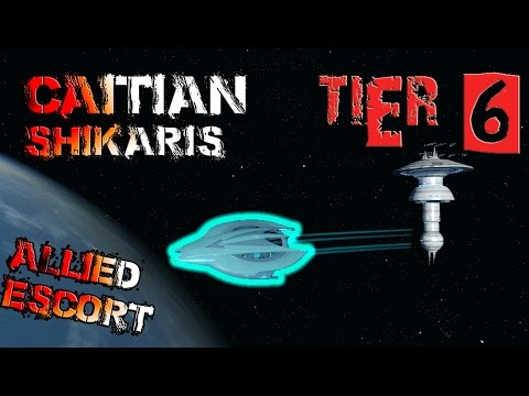 Caitian Shikaris Escort [T6] – with all ship visuals - Star Trek Online