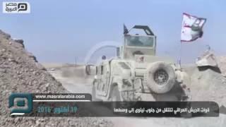 مصر العربية | قوات الجيش العراقي تنتقل من جنوب نينوى إلى وسطها