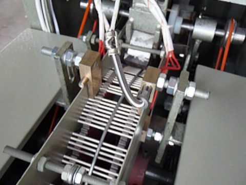 COTTON BUD MACHINE COTTON SWAB MACHINE OPERATION VIDEO