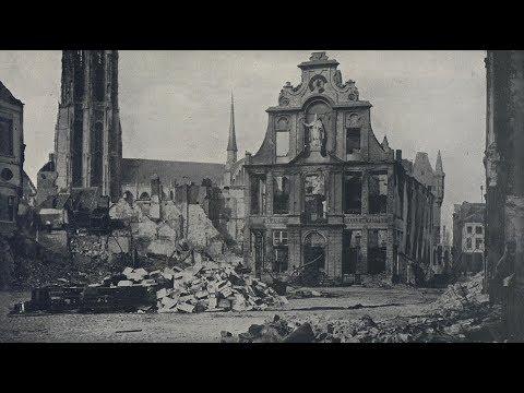 Photos of Destruction in Belgium During World War 1 (1914)