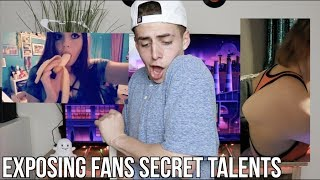 EXPOSING FANS SECRET TALENTS