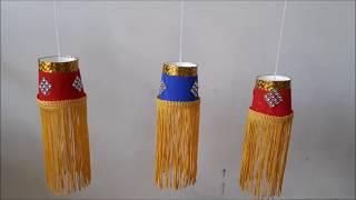 Mini Lantern For Diwali | Diwali Decoration | Best out of waste lantern making | Lantern Making