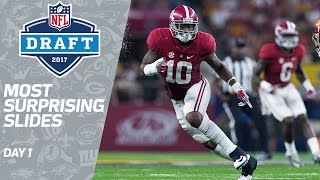 Most Surprising Slides of Round 1   2017 NFL Draft   Path to the Draft   NFL Network