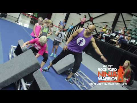 Rockford Ninja Warrior Youth Camp RECAP DAY2
