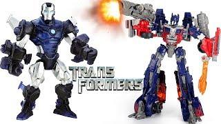 Мультики #Трансформеры Оптимус Прайм - Мегатрон и Роботы Игрушки Видео для детей #Transformers